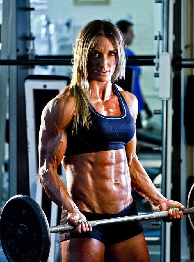 Work Hard! | Body building women, Muscle girls, Fitness models