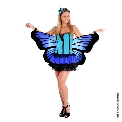 Borboleta: Borboletas Azuis, Royal Blue Butterfly, Fantasias De, Fantasia De Carnavals