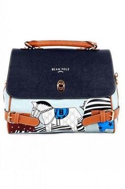 GrabMyLook Pony Horse Fairy Tale Faux Leather Handbag Doctor Boston Bag