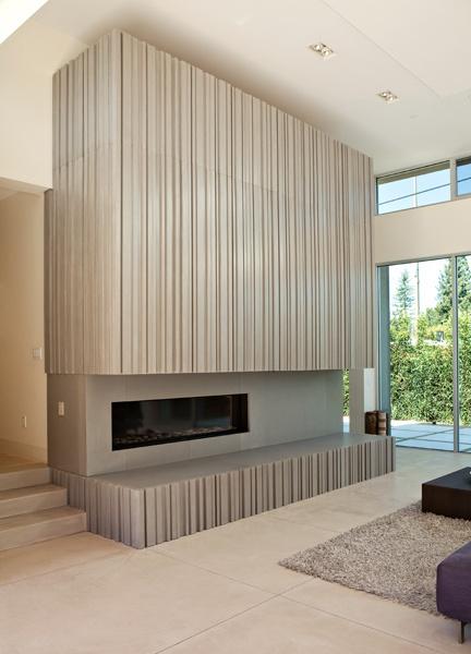 54 best Concrete Fireplaces images on Pinterest | Concrete ...