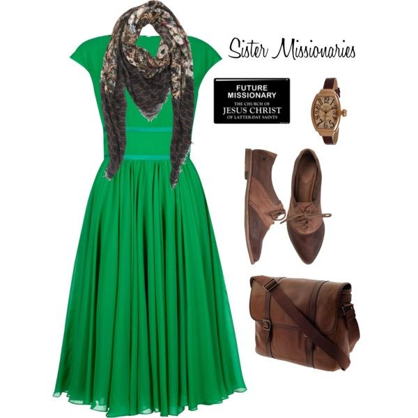 Sister Missionary 1 - Polyvore