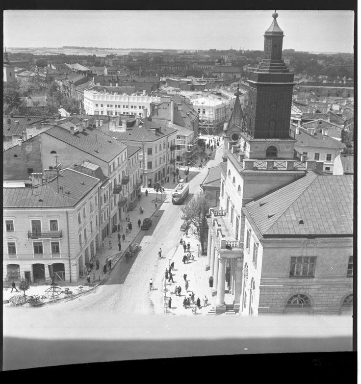 Lublin na zdjęciach Edwarda Hartwiga (zdjęcie 17) - Autor: Edward Hartwig