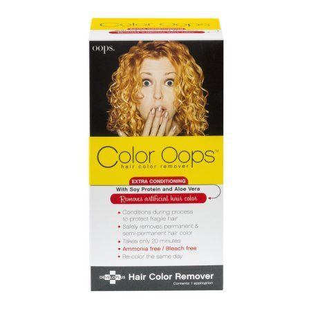 Color Oops Hair Color Remover, 1.0 KIT, Multicolor