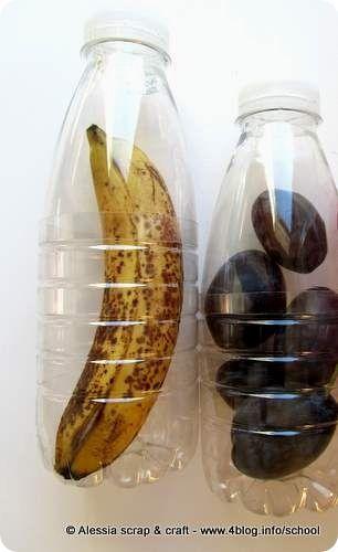 Back to school: porta banana riciclato per la merenda