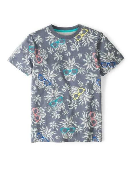 Pineapple Dudes T-shirt 81166 Logo T-Shirts at Boden