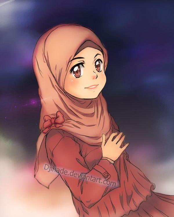 proud young muslimah by Djihade.deviantart.com on @deviantART