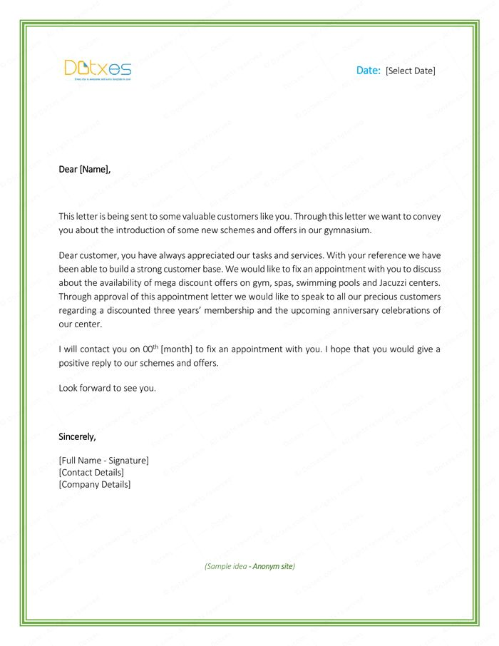 48 best Letter Templates - Write Quick and Professional images on - appointment letters