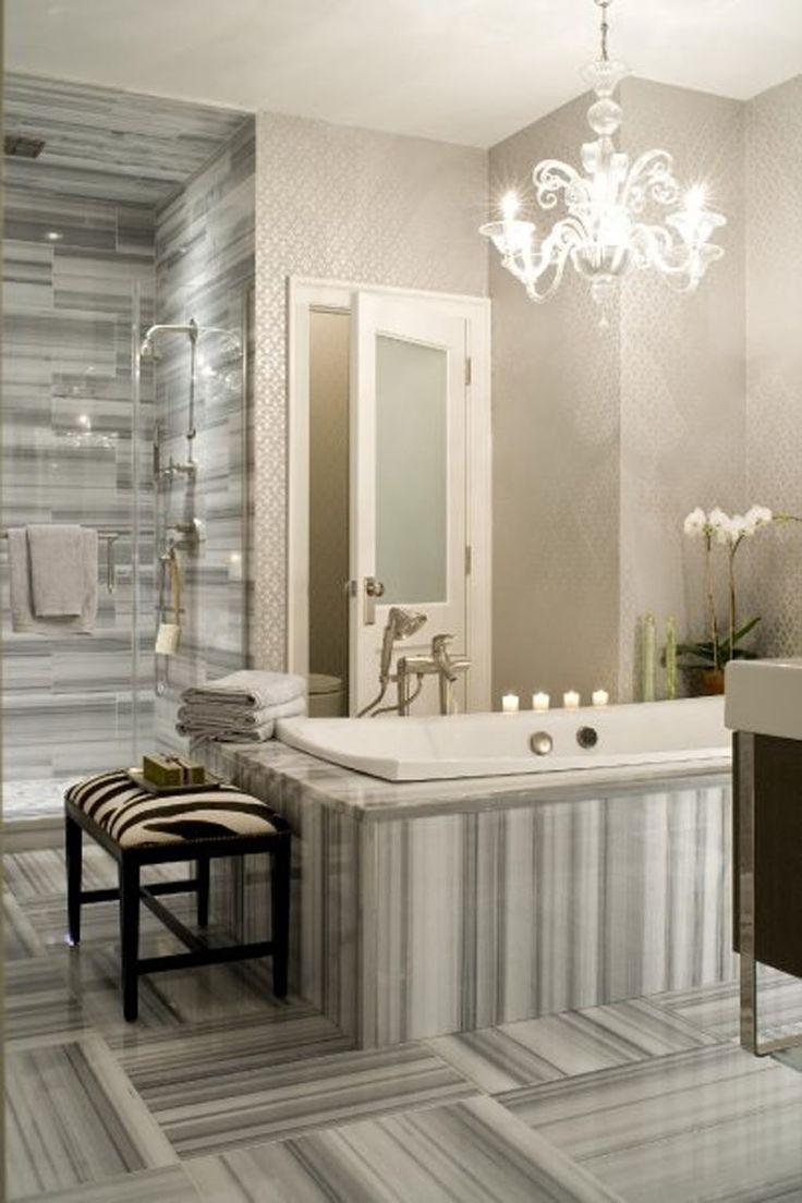 Marmara Marble - LOVE!: Bathroom Design, Tubs, Floors, Tile, Marbles, Bathroom Idea, Bathroom Interiors Design, Contemporary Bathroom, Design Bathroom