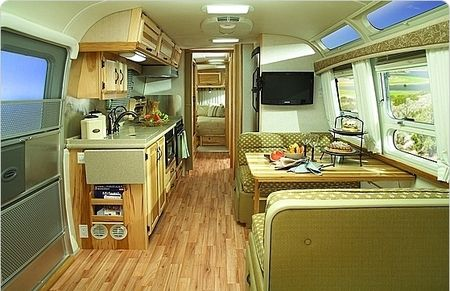Modern Airstream Interior Ideas Retro Campers