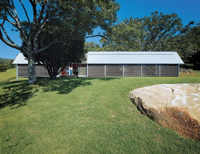 Fredericks' House, designed by Glenn Murcutt, 1982  The Fredericks clan is an institution in Jamberoo