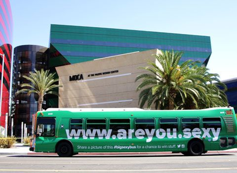 Bus Wraps   Bus Wrap Advertising   OUTFRONT Media