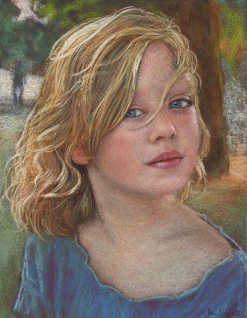 one of the most beautiful pastels ever! By one of my faves JF LeSaint