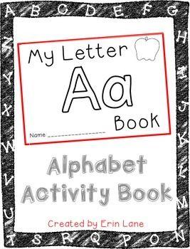Letter A: Alphabet Activity Book FREEBIE!