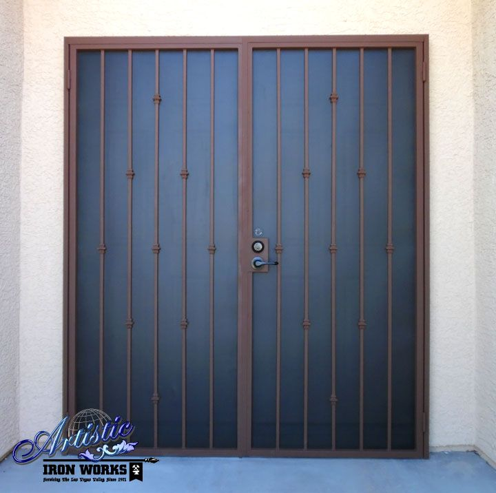 Ornamental Security Doors : Best images about wrought iron security doors on