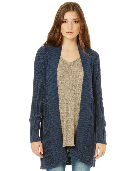 Open Front Slouch Cardi