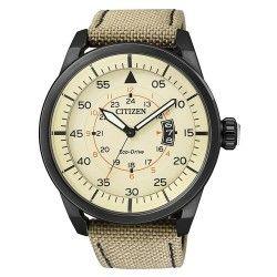 Reloj Caballero Citizen AW1365-19P Aviador Black.  Ideas #Regalo hombres. Relojes de Marca Alicante. Tienda Relojes #Alicante. Relojes RadioControl Alicante ► www.joyeriamargamira.com