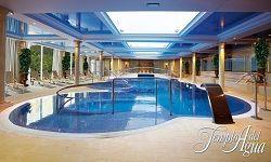 Circuito relajante de dos horas y media de duración ;) #Cantabria #DisfrutaCantabria @Gran Hotel Balneario de Puente Viesgo Gran Hotel Balneario de Puente Viesgo