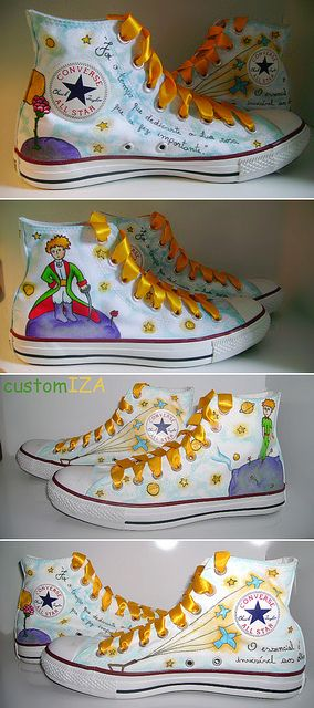 Seriously? This are so unbelievable COOL!!  I want them! ..by CustomIZA! - O Pequeno Príncipe III |