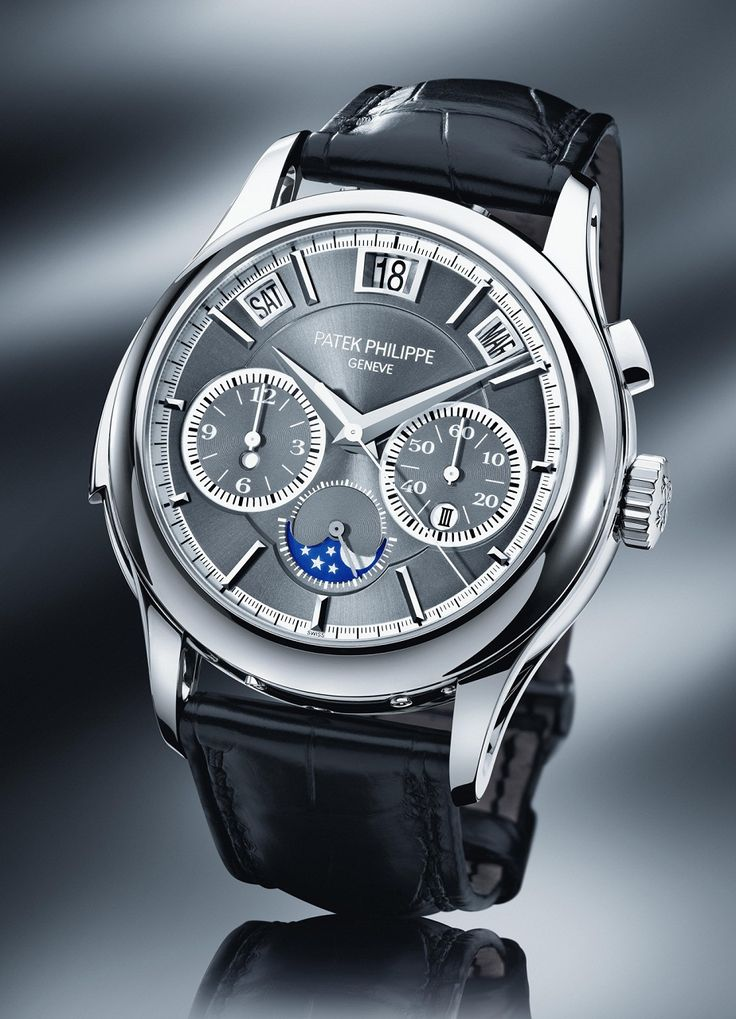 Patek Philippe 5208P Triple Complication in Platinum