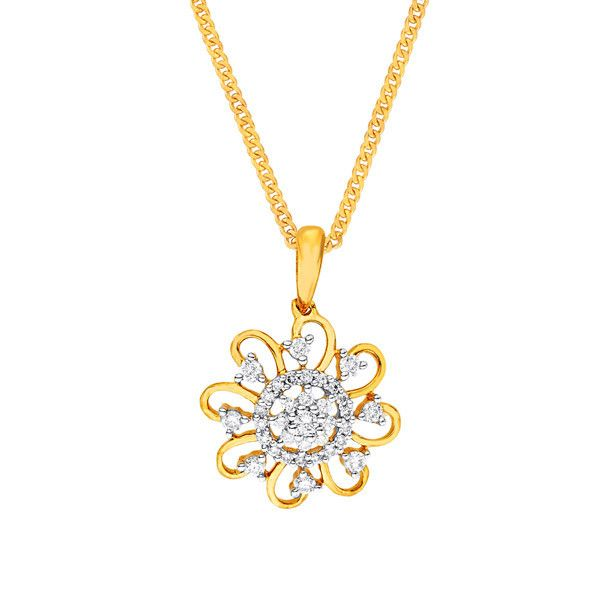 Katrina's Favourite - Nakshatra Diamond Pendant NPA512SI-GH-K
