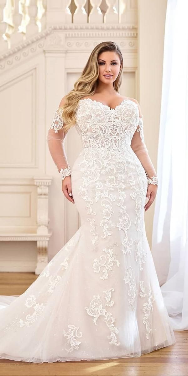 Dreamy Plus Size Wedding Dresses With Sleeves Wedding Forward Plus Size Wedding Dresses With Sleeves Lilac Wedding Dresses Wedding Dresses Unique