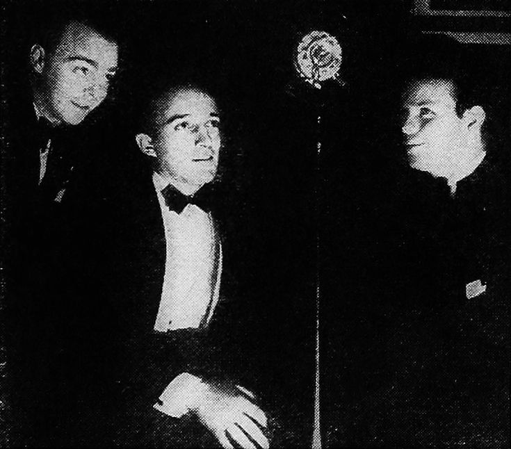 The Rhythm Boys. Left to right: Harry Barris, Bing Crosby, and Al Rinker (Mildred Bailey's brother).