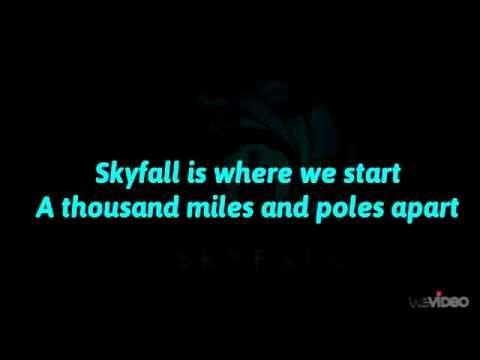Adele - Skyfall (Lyrics Full) - YouTube