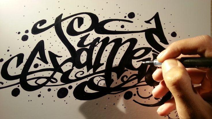 Como hacer letras 3D de graffitis y tatuajes fáciles - Nombre James: FACEBOOK: https://www.facebook.com/ArteZartiex/ TWITTER: https://twitter.com/Zartiex YOUTUBE: http://www.youtube.com/user/zartiex?sub_confirmation=1 INSTAGRAM: https://www.instagram.com/zartiex/ DEVIANTART: http://zartiex.deviantart.com/ BLOGGER  http://zartiex.blogspot.com/