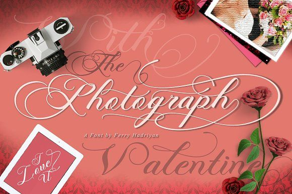 Photograph - Script Wedding Font by feydesign on @creativemarket