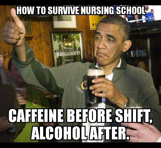 Surviving nursing school 101 - #nurse #nursing #rn #meme #funny #memes #nursingschool