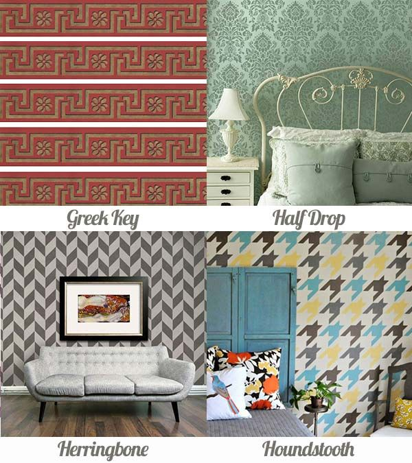 Pattern Glossary Of Essential Classic Designs Used In Interior Decor Via Paint