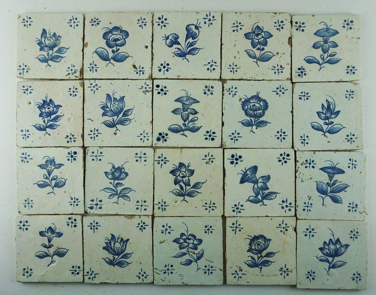 Lote - 28 Azulejos Antigos | Bestnet Leilões