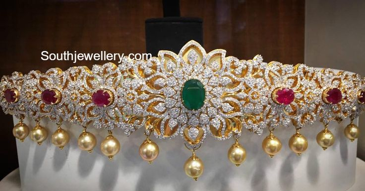 Floral Diamond Vaddanam