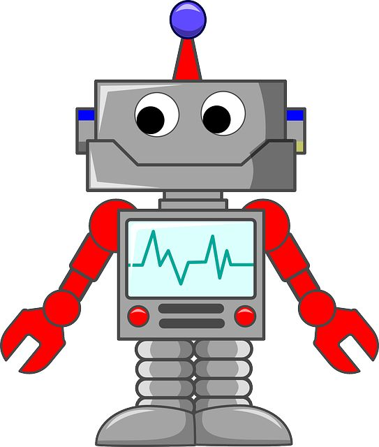 Photo By Clker-Free-Vector-Images | Pixabay   #robot #machine #technology #robotics #technology