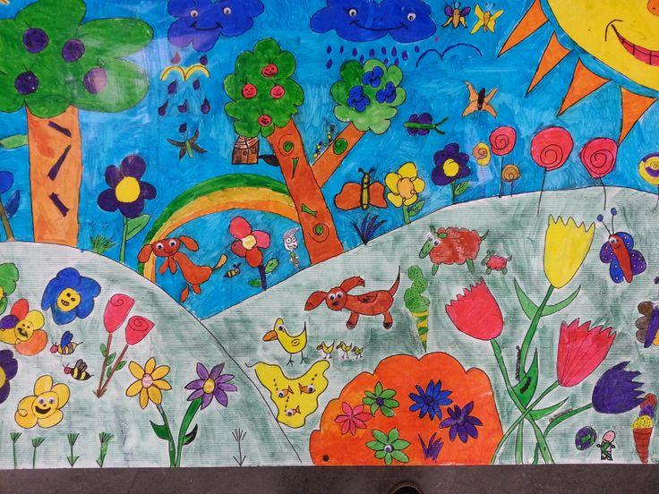Spring Mural