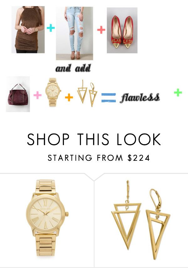 Flawless Semi-Casual Outfit by the-walking-threads on Polyvore featuring Michael Kors