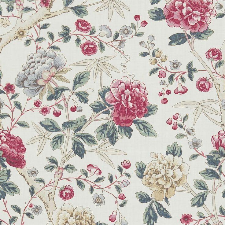 Alkuperäinen Morris & Co - Käsityöt, kankaat ja tapetit malleja William Morris & Company | tuotteet | British / UK Kankaat ja taustakuvat | Tangley (DMCOTA203) | Morris Volume V