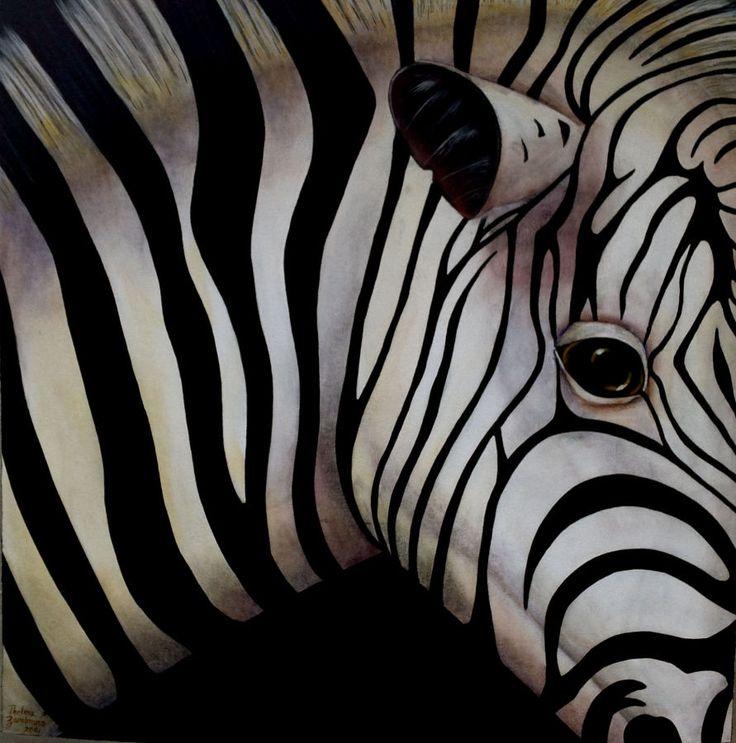 Zebra Look, 80 x 80 cm mixed media on canvas by Thelma Zambrano (scheduled via http://www.tailwindapp.com?utm_source=pinterest&utm_medium=twpin&utm_content=post27542314&utm_campaign=scheduler_attribution)