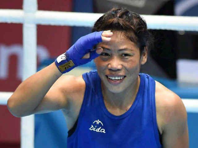#MaryKom returns to ring; #Tokyo on mind. #Tokyo2020 #WomenBoxing #MCMaryKom #SportsCrunch #SummerOlympics