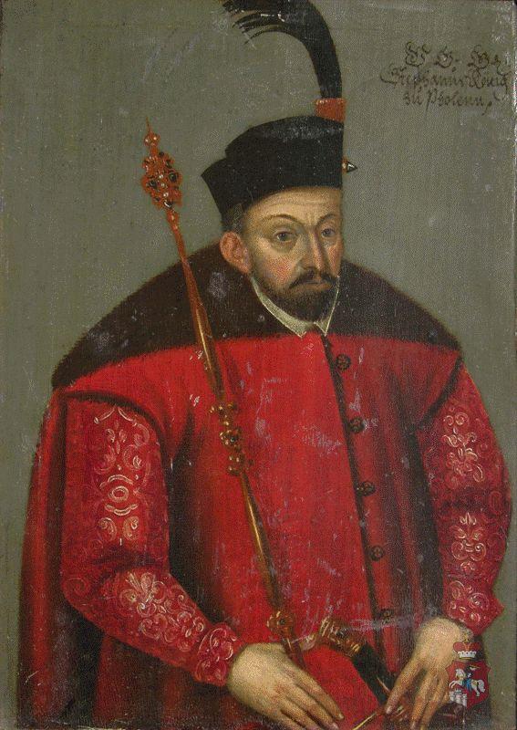 Portret Stefana Batorego (1533-1586)