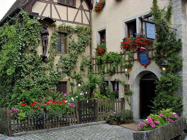 ローテンブルクのホテル ‐ドイツの絶景・名所‐