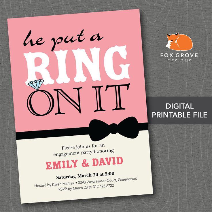 engagement party invitations australia