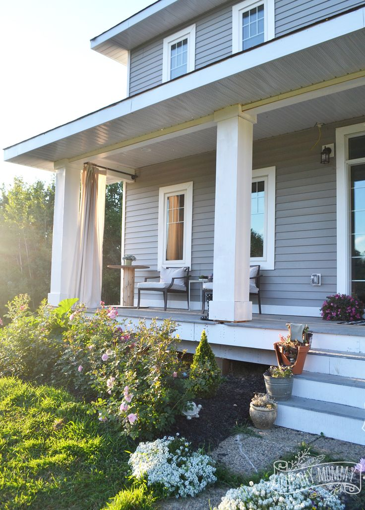 157 best our diy craftsman farmhouse images on pinterest for How to build craftsman porch columns
