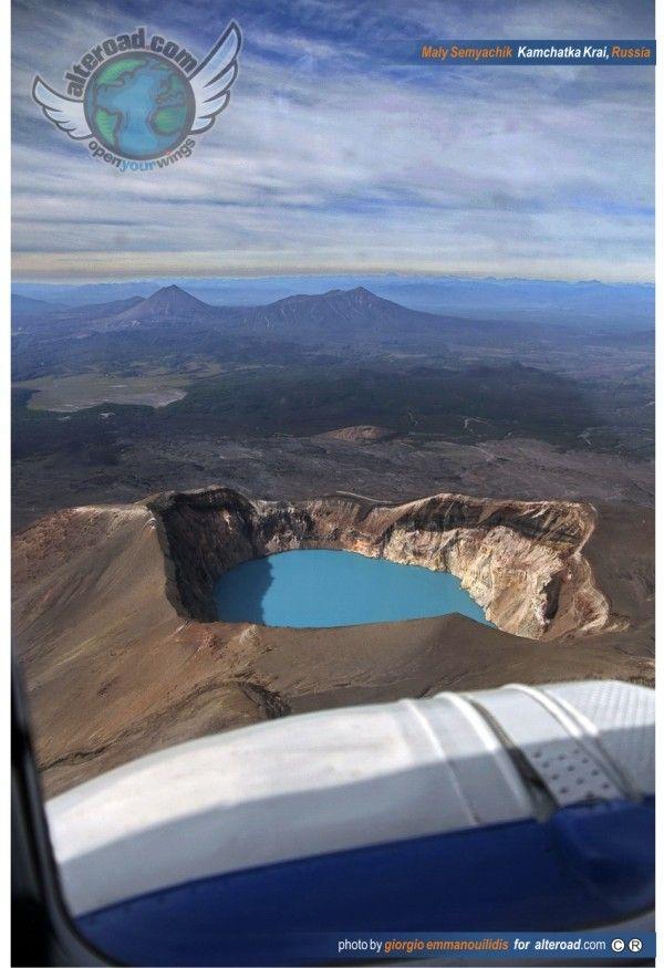 Maly Semyachik Volcano Crater Kamchatka-Krai Russia ‹ Alteroad