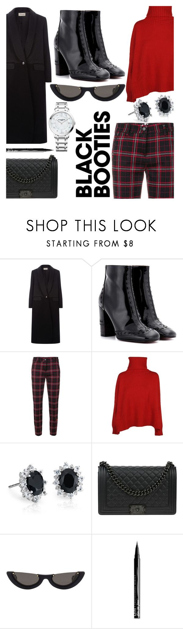 """""""Back to the Basics"""" by mistiquelady ❤ liked on Polyvore featuring Temperley London, Chloé, Cambio, Ermanno Scervino, Blue Nile, Chanel, PAWAKA, NYX and Baume & Mercier"""
