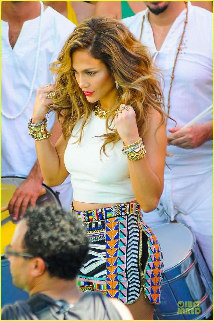 Jennifer Lopez Shoots Vibrant World Cup Music Video!: Photo Jennifer Lopez is a vibrant beauty while filming a music video for her World Cup song