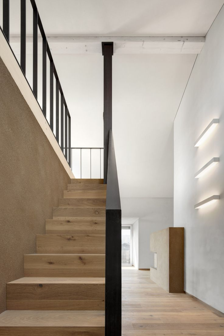 The natural style of Matteo Brioni. Private house, Brunico.