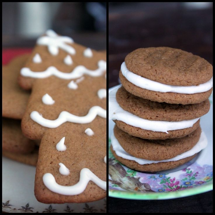 Gluten Free Gingerbread Cookies | For My Sweet Tooth | Pinterest