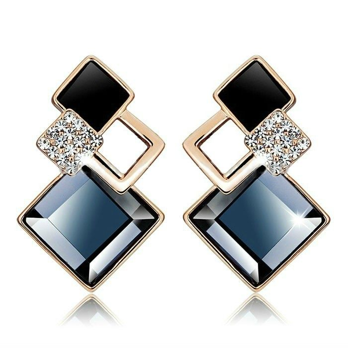 Future Square Earrings