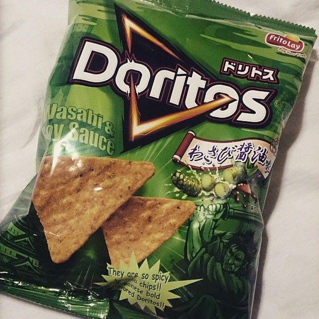 #doritos #ドリトス #わさび醤油味  ドリトス大好きなんだけどタコス味めっちゃ好きだが、わさび醤油味を初めて食ってみたら美味い!!σ(≧ω≦*)
